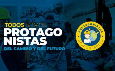 """LANZAMOS LA CAMPAÑA """"PROTAGONISTAS DEL CAMBIO Y DEL FUTURO"""""""